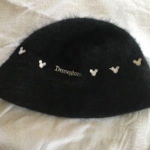 Disneyland rabbit hair blend bucket hat